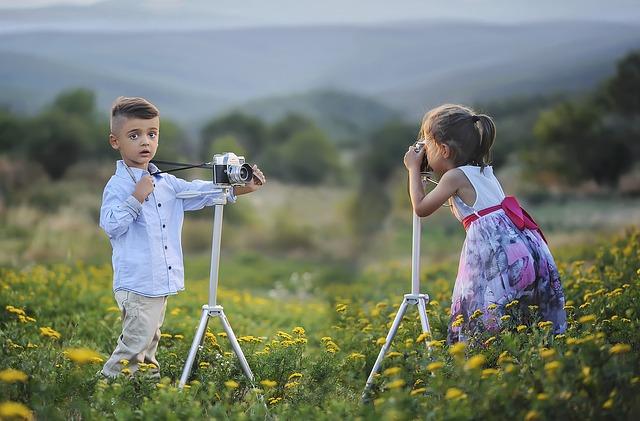 modelka a fotograf