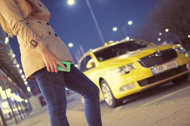 čekání na taxi