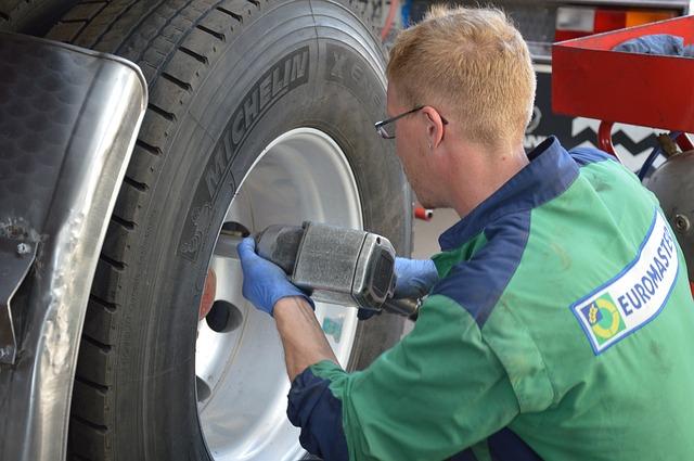 služba pneuservisu