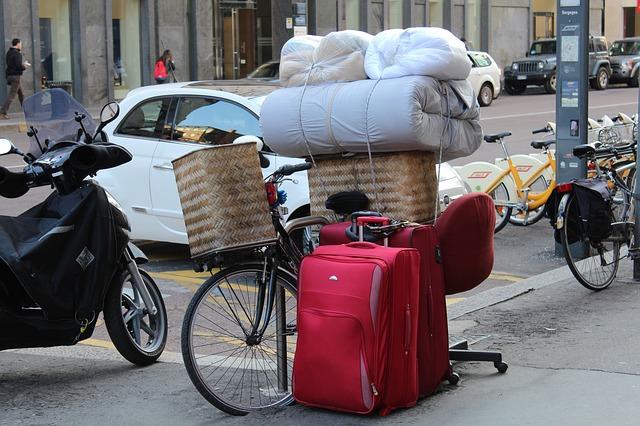 Příprava na stěhování