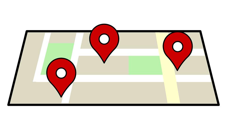 poloha na mapě